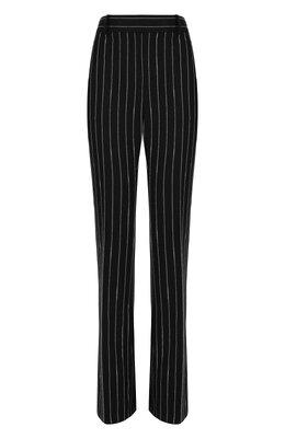 Шерстяные расклешенные брюки в полоску Tom Ford PAW158-FAX436