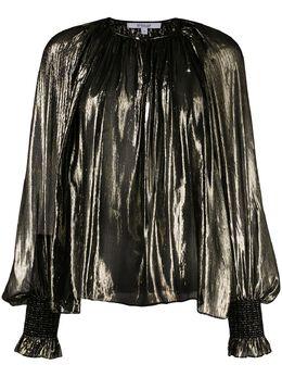 10 Crosby Derek Lam блузка Helena с плиссировкой TR01705ASL