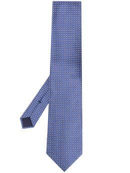 Tom Ford галстук с геометричным узором XTM7TF23