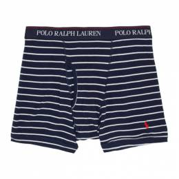 Polo Ralph Lauren Three-Pack Red and Blue Boxer Briefs RCBBS32TK