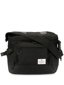Makavelic сумка на плечо с нашивкой-логотипом 312010305BK