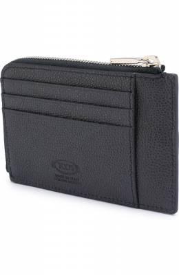 Кожаный чехол для кредитных карт Tod's XAMACHFV200GPA