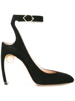 Nicholas Kirkwood туфли 'Lola' с жемчужиной 910A82SLS5N99