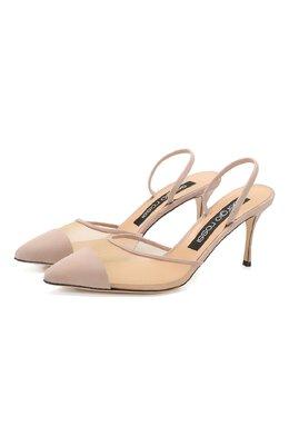 Замшевые туфли Sergio Rossi A88390-MAFM46