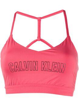 Calvin Klein спортивный бюстгальтер с логотипом 00GWS0K134607