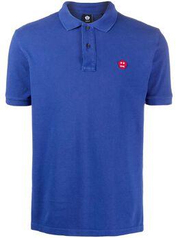 Aspesi рубашка-поло с вышитым логотипом FY08G106