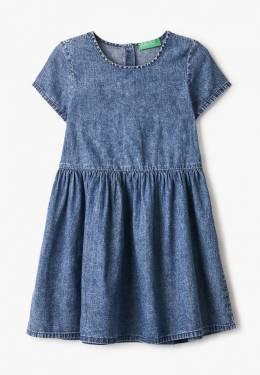 Платье джинсовое United Colors Of Benetton 4DHJ5VDD0