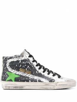 Golden Goose высокие кеды Slide G35MS595A54