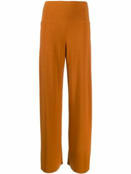 Norma Kamali брюки широкого кроя 4297PL111151