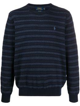 Ralph Lauren джемпер вязки интарсия с логотипом 710786671