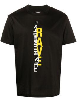 Les Hommes футболка с логотипом LIT204703P9002