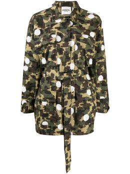 Essentiel Antwerp куртка Vengaboys с камуфляжным принтом VENGABOYS