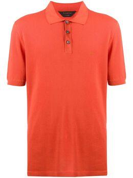 Ermenegildo Zegna Xxx рубашка-поло с вышитым логотипом CUC96C32