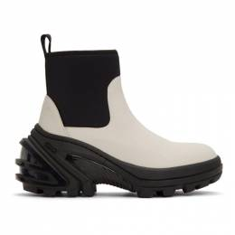 1017 Alyx 9Sm Off-White Rubber Boots AAUBO0026LE01BEG0003