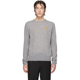 Acne Studios Grey Fruit Patch Sweater B60124