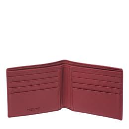 Bottega Veneta Black Intrecciato Leather Bi-Fold Wallet