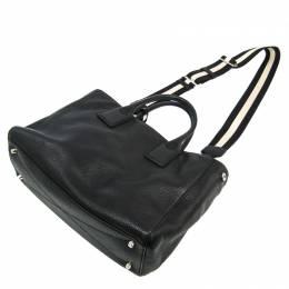 Marc Jacobs Black Leather Gotham East West Shoulder Bag