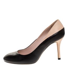 Miu Miu Bicolor Leather Round Toe Pumps Size 36.5 268714