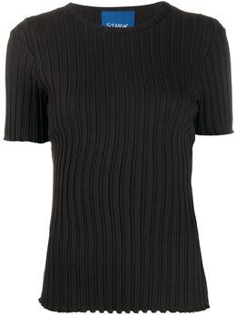 Simon Miller футболка Osuna узкого кроя в рубчик W3734042