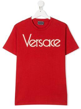 Young Versace футболка с логотипом YD000211YA00079