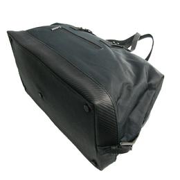 Dunhill Gray Nylon Boston Bag 266004