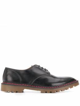 Premiata туфли Callo на шнуровке 31639CALLONERO