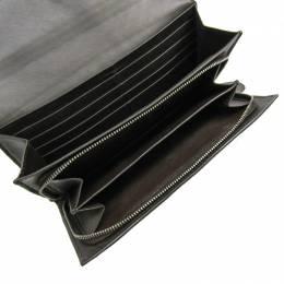 Bottega Veneta Brown Intrecciato Leather Long Wallet