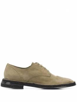 Premiata туфли на шнуровке с круглым носком 31651DUSTERGIUNGLA