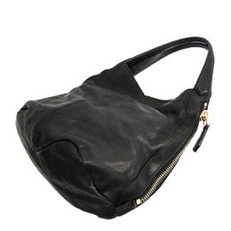 Givenchy Black Leather Hobo Bag