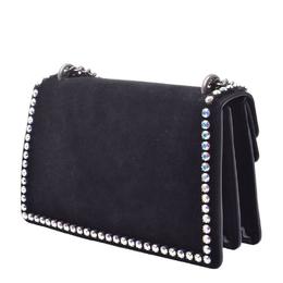 Gucci Black Suede Dionysus Chain Shoulder Bag 263932