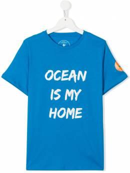 Save The Duck Kids футболка с логотипом JT45OUJESYX01818