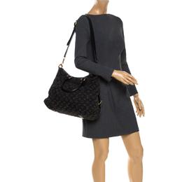Louis Vuitton Black Monogram Denim Neo Cabby GM Bag 264823