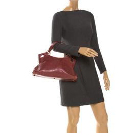Cartier Red Leather Small Marcello De Cartier Bag 261314