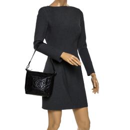 Chanel Black Leather Small Chocolate Bar Shoulder Bag 263806