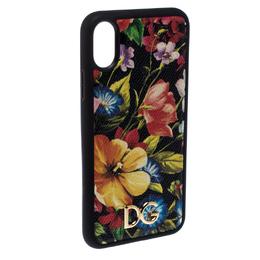 Dolce&Gabbana Black Floral IPhone XS Max Case 259278