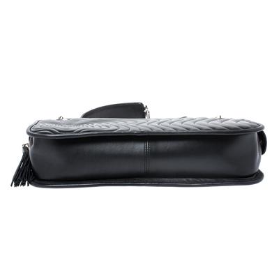 Montblanc Black Leather Starisma Alcina Shoulder Bag 258682 - 5