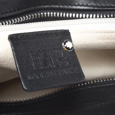 Montblanc Black Leather Starisma Alcina Shoulder Bag 258682 - 8