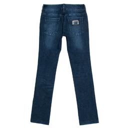 Dolce&Gabbana Indigo Faded Effect Denim Straight Fit Jeans M 336925