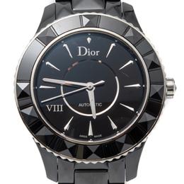 Dior Black Ceramic Viii Automatic Women'S Watch 38MM 259719