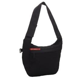 Prada Black Nylon Sports Shoulder Bag 259961