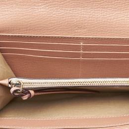 Chloe Beige Leather Lily Long Wallet
