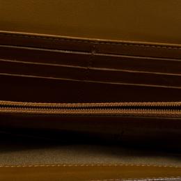 Fendi Tan Leather Logo Flap Continental Wallet 258181