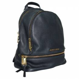 Michael Kors Navy Blue Leather Backpack 234983