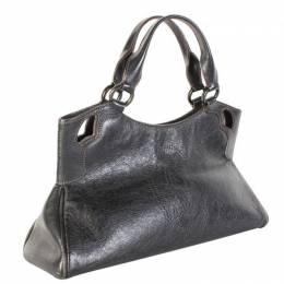 Cartier Black Leather Marcello de Cartier Bag 231980