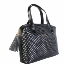 Bally Black Leather Tote Bag 211513