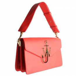 J.W. Anderson Red Leather Anchor Shoulder Bag 201862