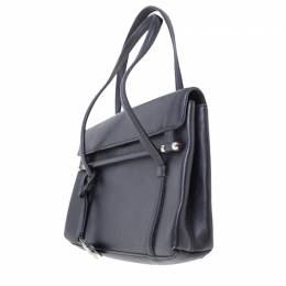 Cartier Black Leather Shoulder Bag