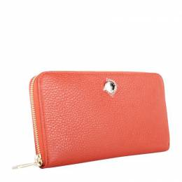 Furla Red Leather Wallet 192538