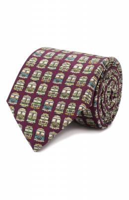 Шелковый галстук Eton A000 32271