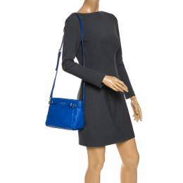 Kate Spade Blue Leather Mini Brandy Crossbody Bag 268871